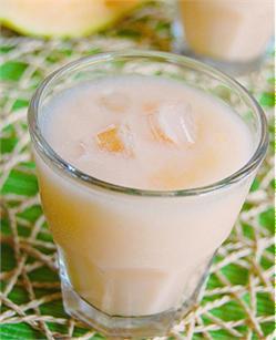 Dưa vàng dầm sữa