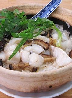 Cơm cá hấp nấm