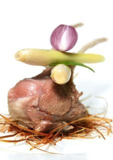 Thịt cừu hấp sả