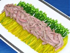 Phi lê thịt bò hấp hoa