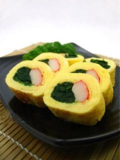 Trứng cuộn kiểu Sushi