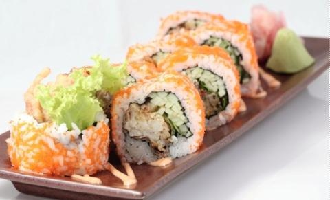 Sushi cua lột
