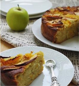 Bánh táo cam
