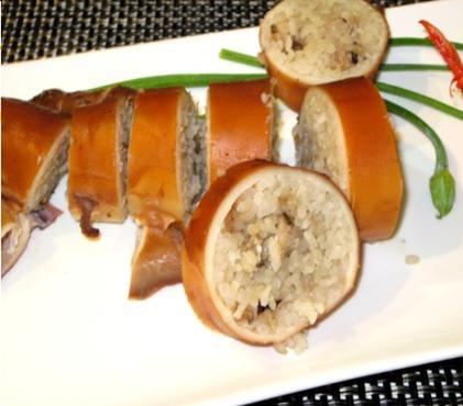 Sushi mực
