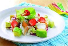 Salad bắp cải trái cây