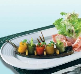 Salad jambon dầu giấm