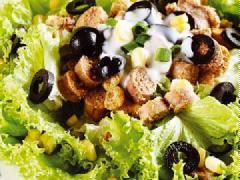 Salad trứng cá thu