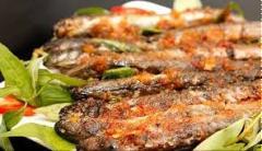 Cá kèo nướng muối ớt
