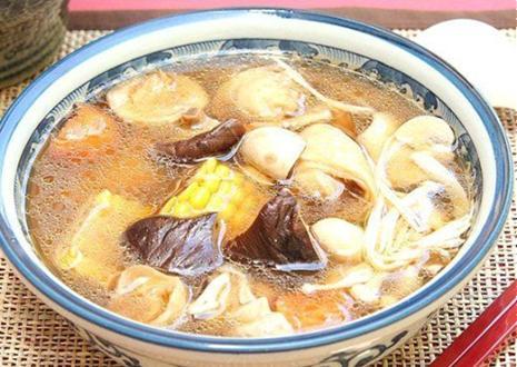 Mì căn nấu súp