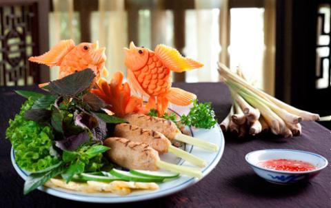 Cá bao sả nướng
