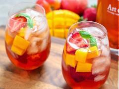 Cocktail Sangria trà