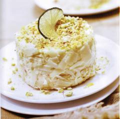 Bánh bông lan hạt pistachio