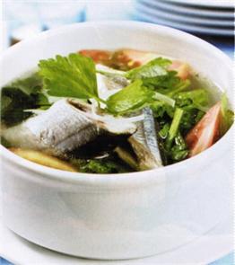 Cá thu nhật nấu ngót