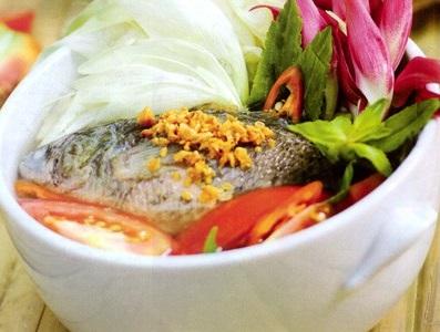 Canh chua cá rô hoa so đũa