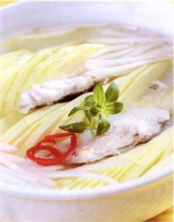 Canh cá rô nấu xoài