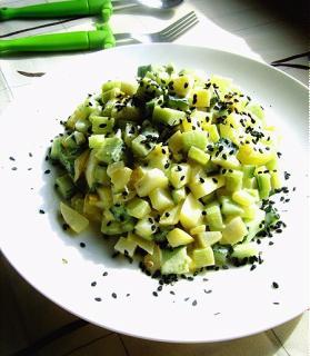 Salad Dưa Chuột Khoai Tây